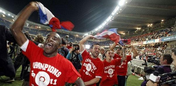 Les 10 meilleurs clubs de foot français de tous les temps