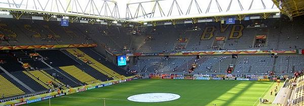 Les 10 plus grands stades d'Allemagne