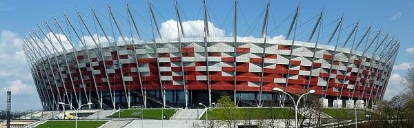 Les 10 plus grands stades de Pologne