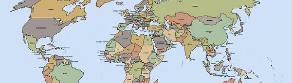 Les 10 pays les plus petits du monde