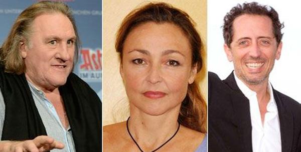 Les 10 meilleurs revenus des acteurs Français en 2012