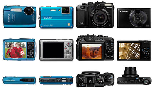 Les 10 meilleurs appareils photos numériques Compact et Bridge comparatif et classement 2015