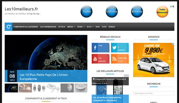 Bonus #37 : Un nouveau site web pour les10meilleurs.fr
