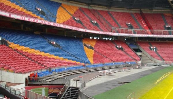 Les 10 plus grands stades de foot des Pays-Bas